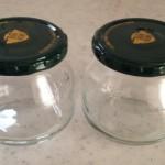 保存瓶の殺菌消毒